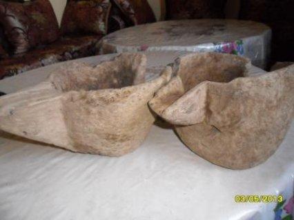 متحجرات واواني قديمة للبيع