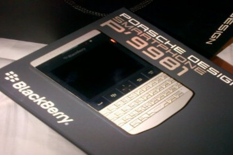 BlackBerry Porsche Design P9981(Add bb pin 27fc4748)