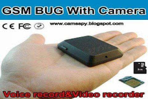اصغر كاميرا مراقبة بواسطة شريحة الجوال