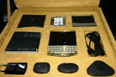 For Sale Blackberry Porsche design p9981 Gold