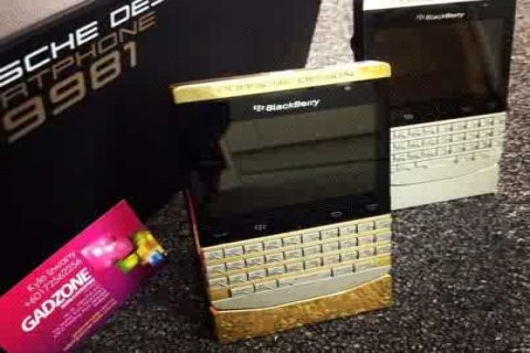 New VIP Blackberry Porsche P9981 For Sale