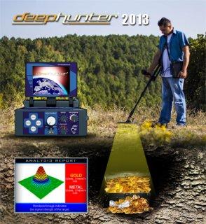 احدث جهاز لكشف الذهب والكنوز Deep Hunter Pro ثلاثي الابعاد