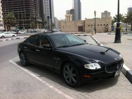 2007  Maserati quattroporte GTS GCC axhaust system