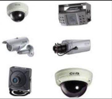 كاميرات مراقبة  ستائر هوائية