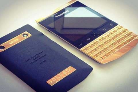 New Blackberry Porsche P9981 with Special Pin