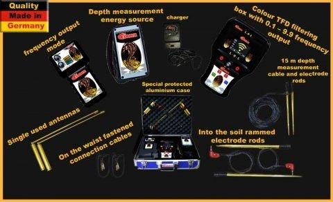 اجهزة كشف الذهب والاثار كونكورد 00201128945455 GOBRA الالماني