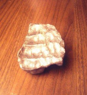حجر وجدت بالحرم المكي بمكة بعد هدم جزء من الحرم عليها أثر أصابع