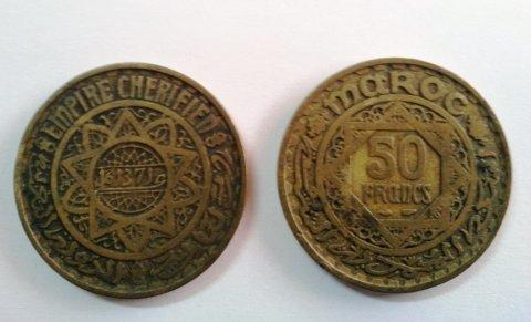 قطع نقدية من فئة 50 فرانك