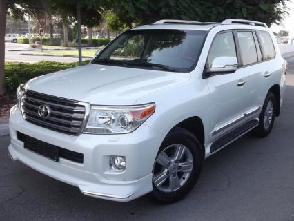 TOYOTA LAND CRUISER/VXR V8 5.7/2013/WHITE/ FULL OPTION/