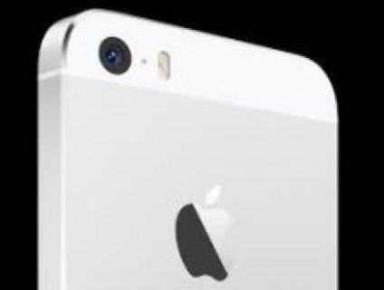 ايفون 5 اس 16جيجا اللون الفضي مع الابيض ضمان موبايلي