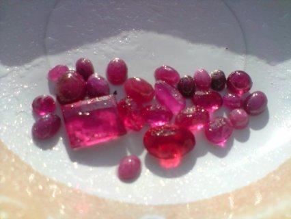 ruby and tourmaline