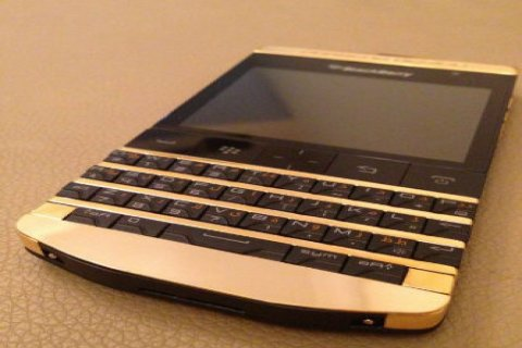 24CT Gold Blackberry Porsche P9981