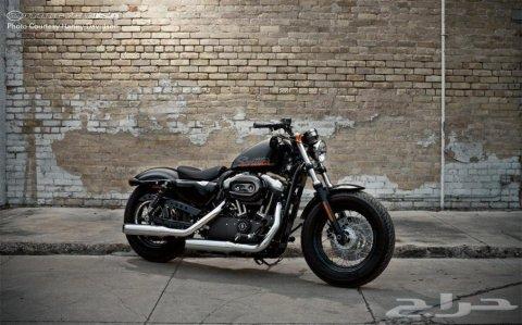 هارلي دفيدسون سبوستر 48 1200cc موديل 2012