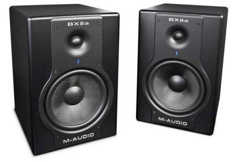 سماعات M-Audio Bx8a للبيع جده