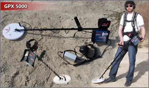 جهاز كشف الذهب تحت الارض GPX5000 من مجموعة برايزوم
