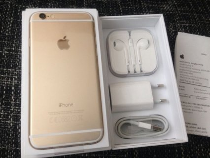 Original Apple Iphone 6 Plus  128gb Gold