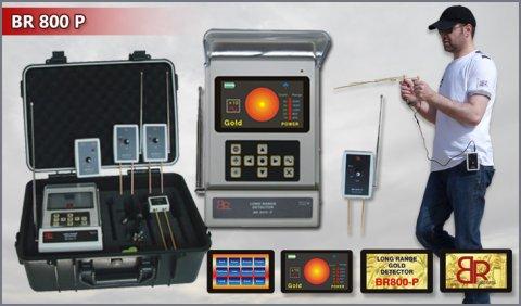جهاز التنقيب عن الذهب و الدفائن BR800P