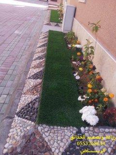زراعة الورود والنخيل والتيل 0553268634