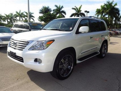 LEXUS LX 570 2011 MODEL, FULL AUTOMATIC