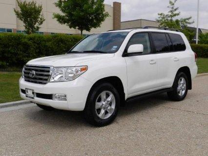 2010 Toyota Land Cruiser Full Options, Accident