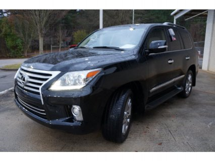 صور 2013 LEXUS LX 570 BLACK SUV ON SALE 1