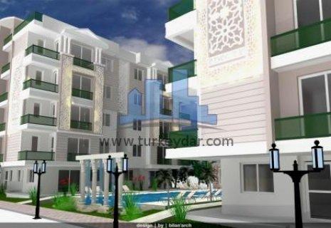 افضل استثمار عقاري سكني للجنسيات العربية في انطاليا تركيا