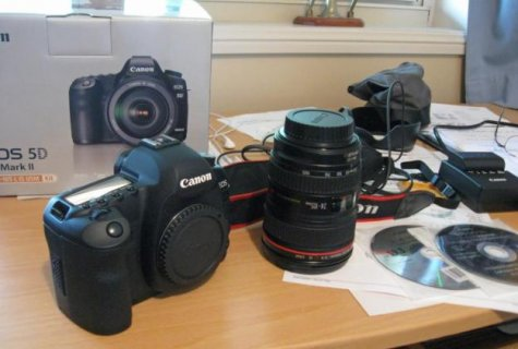 For Sale: Canon EOS 5D Mark II 21MP DSLR Camera with 24-105mm IS