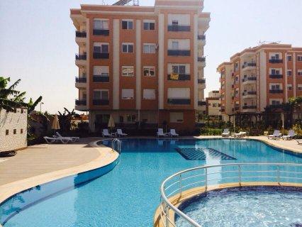 شقة غرفتين وصالة للبيع بقسط اولي 24000$ انطاليا تركيا