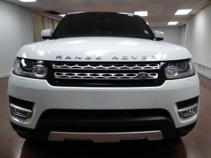 2014 Land Rover Range Rover Sport Supercharged - Super White
