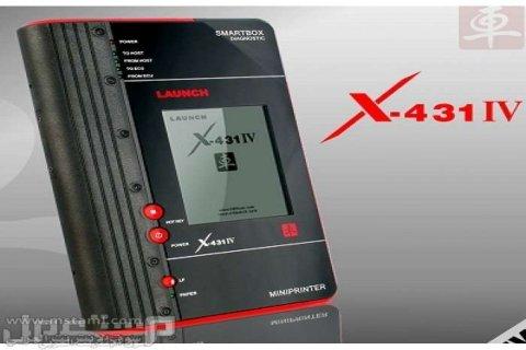 جهاز لانش X-431 IV بالعربي لفحص وبرمجة السيارات