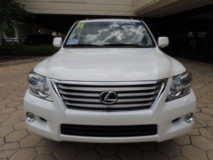 Lexus LX 570 White 2011 Full option