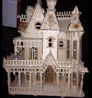منزل  مصنوع من الخشب