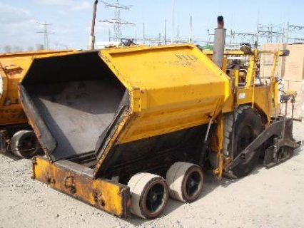 IT# 554 BITELLI BB30 Pneumatic Asphalt Paver