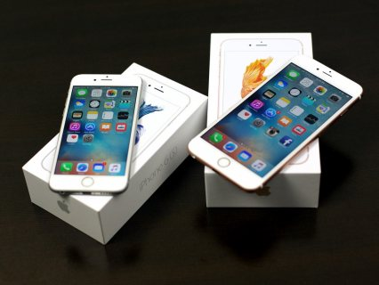 للبيع Apple iphone 6s plus & Samsung s6 Edge