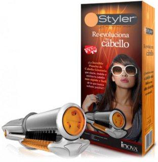 إن ستايلر مصفف شعر دوار لفرد الشعر وعمل الكيرلي