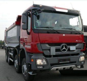D 4078 قلابات Mercedes Actros 4144 سنة الصنع 2014