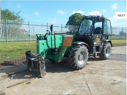 IT# 924-2009 JCB 540-170 Turbo Powershift Telehandler