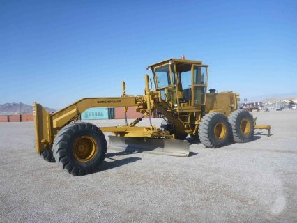 جريدر كاتربلر IT# 31-1980 CATERPILLAR 14G Motor Grader