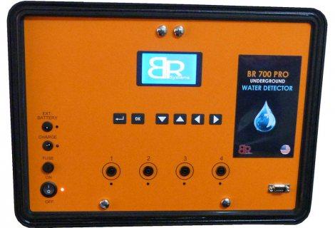 BR 700 _PRO  جهاز كشف المياه الجوفيه  والابار الارتوازيه