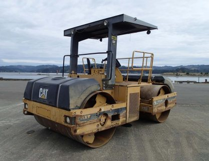 رصاصات اسفلت IT# 38-1997 CATERPILLAR CB634C Tandem Vibratory Rol