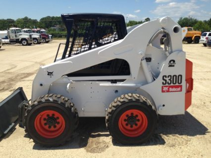 شيول بوبكات IT# 554-2005 BOBCAT S300 SKID STEER Loader