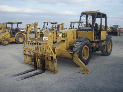 رافعة تلسكوبية للبيع IT# 421A-1997 CAT TH103 10,000 Lb 4x4x4 Telescopic Forklift