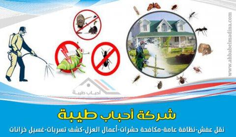 مكافحة الحشرات واقوى المبيدات معنا 0541697407
