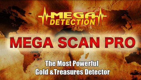 اجهزة كشف الذهب فى السعوديه MEGA SCAN PRO
