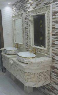 درج و مغاسل رخام طبيعي بأقل الأسعار 0545068009