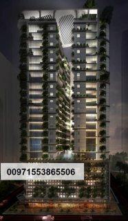 إدفع 45 ألف درهم وتملك غرفتين وصالة بالأقساط بأول برج صديق للبيئة بالإمارات