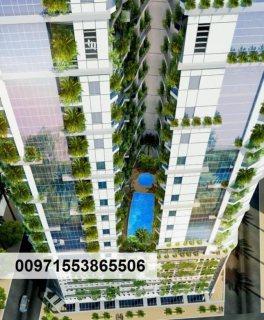 فرصتك الآن لتتملك شقة مميزة بالأقساط في الإمارات بأول برج صديق للبيئة