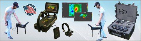 جهاز Royal Analyzer بنظام التصوير المباشر 3D للتنقيب عن الذهب والدفائن لعمق 32 م