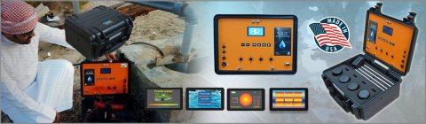 جهاز BR 700 PRO للكشف عن المياة الجوفية لعمق 700 متر - بي ار دبي
