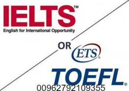 (درس لغة) شهادة ايلتس و توفل موثقة للبيع 00962792109355 في السعودية